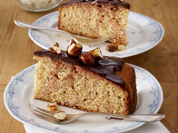 Preiselbeer-Nuss Marmorkuchen Rezept