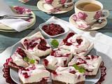 Preiselbeer-Sahne-Torte Rezept