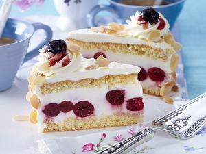 Prosecco-Amarena-Kirsch-Torte Rezept