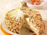 Prosecco-Pfirsich-Torte Rezept