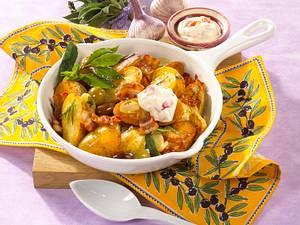 Provenzalische Kartoffelpfanne Rezept