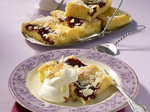 Pudding-Kuchen vom Blech Rezept