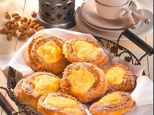Pudding-Schnecken Rezept