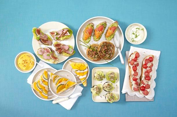 Pumpernickeltaler mit Matjes-Tartar Rezept