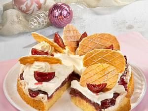 Punschpflaumen-Torte Rezept
