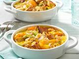 Puten-Curry-Auflauf mit Aprikosen Rezept