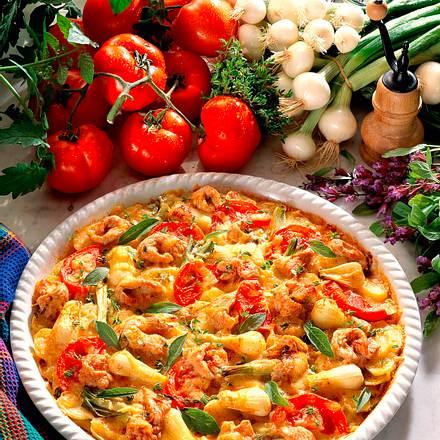 Puten-Kartoffel-Pizza Rezept