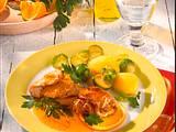 Puten-Saltimbocca mit Rosenkohl Rezept