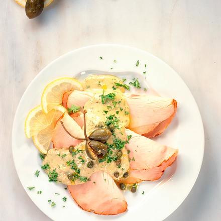 Putenaufschnitt mit Thunfischsoße Rezept