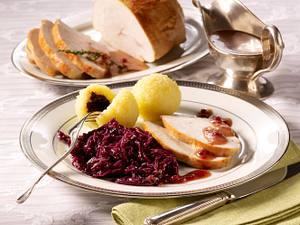 Putenbraten mit Portweinsoße Rezept