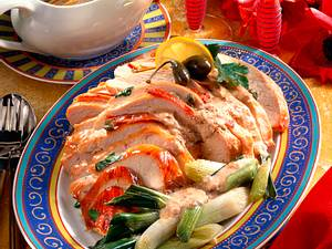 Putenbraten mit Thunfisch-Kapernsoße Rezept