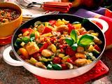 Putengulasch mit Basilikum-Tomaten-Pesto Rezept
