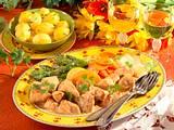 Putenragout mit Gemüse Rezept