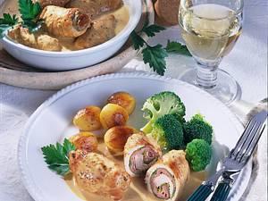 Putenrouladen mit Broccoli Rezept