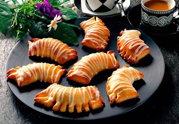 Quarktaschen mit Marzipan Rezept