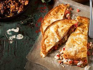 Quesadillas mit Tomaten-Käse-Füllung Rezept