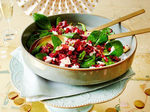 Quinoa-Partysalat mit Roter Bete Rezept