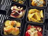 Raclette mit Birne und Camembert Rezept