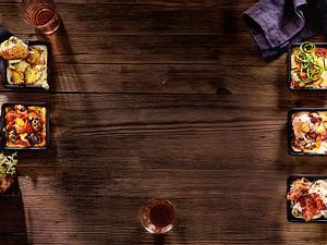 Racletterie: Aprikosen-Fleischsalat-Schmankerl