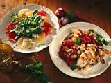 Radicchio-Bohnensalat mit Hähnchenfilet Rezept