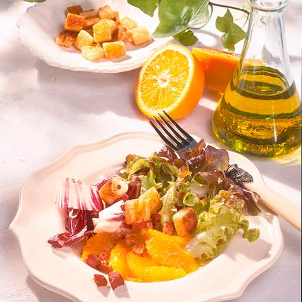 Radicchio-Orangen-Salat Rezept