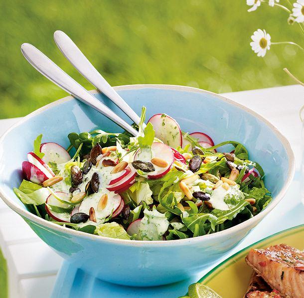 radieschen rucola salat rezept lecker