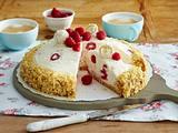 Raffaello-Himbeer-Torte Rezept