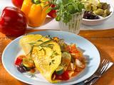 Ratatouille-Omelett Rezept
