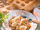 Ravioli mit Bolognesefüllung Rezept