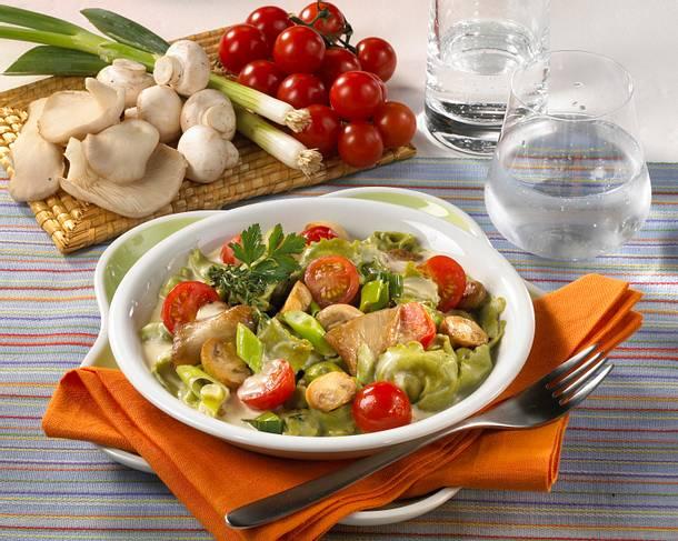 Ravioli mit Pilzen Rezept