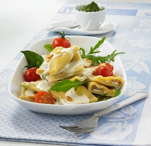 Ravioli mit Ricotta-Füllung Rezept