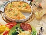 Reis-Käse-Gratin mit Schinken Rezept