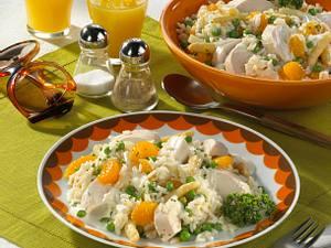 Reissalat mit Hühnchen (70er-Jahre-Party) Rezept
