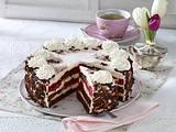 Rhabarber-Amaretto-Torte Rezept