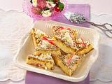 Rhabarber-Blondies Rezept