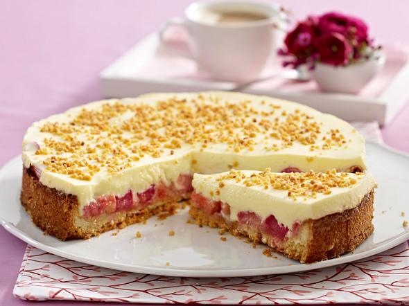 Rhabarber-Creme-Torte Rezept
