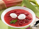 Rhabarber-Himbeer-Suppe Rezept
