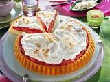 Rhabarber-Kokossahne-Kuchen Rezept