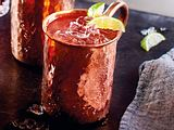 Rhabarber-Mule Rezept