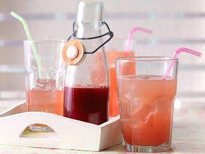 Rhabarber-Sirup Rezept