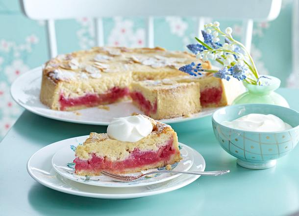 Rhabarber-Torte Rezept