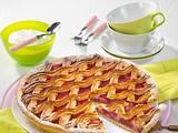 Rhabarberkuchen Linzer Art Rezept