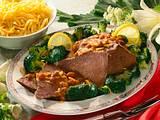 Rheinischer Sauerbraten mit Broccoligemüse Rezept
