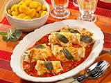 Ricotta-Putenröllchen Rezept