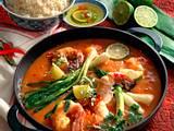 Riesengarnelen in Chili-Soße Rezept