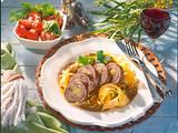 Rinderroulade mit Porree, Bacon und Senf Rezept