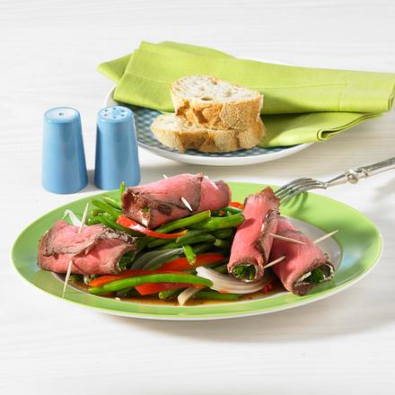 Roastbeef-Meerrettich-Röllchen Rezept