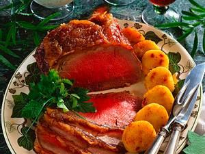 Roastbeef mit Kartoffeltalern Rezept