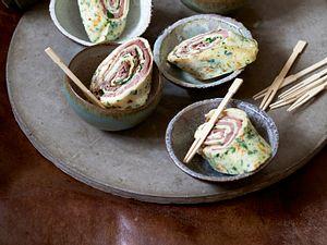 Roastbeefröllchen mit Meerrettichcreme Rezept