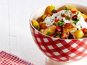 Röst-Kartoffelsalat Rezept